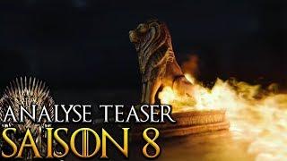 Analyse du teaser et théories - Game of Thrones saison 8