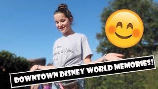 Downtown Disney World Memories 😊 Wk 382.6  Bratayley