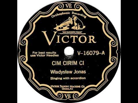 Polish 78rpm recorings, 1929. VICTOR V-16079 A/B. Cim cirim ci / Magda w stodole