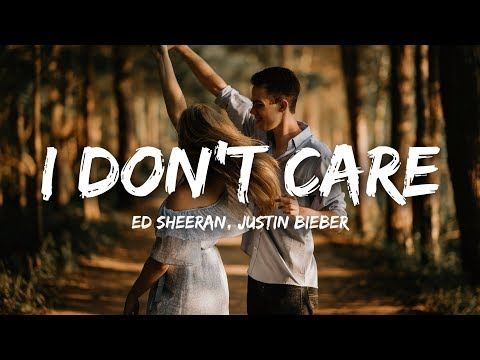 Ed Sheeran, Justin Bieber - I Don't Care (Lyrics) - NewMelody
