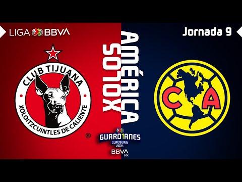 Resumen y Goles | Xolos vs América | Liga BBVA MX – Guard1anes 2021 – Jornada 9
