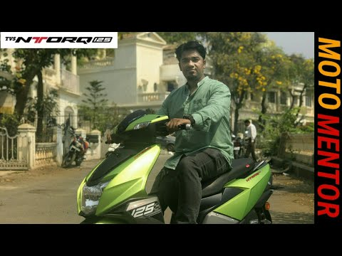 TVS NTORQ 125 REVIEW SMARTEST SCOOTER BETTER THEN HONDA ACTIVA DIO AND YAMAHA RAYZR??