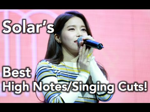 Video HOT] Solar (Mamamoo)- Best Live High Notes/Singing
