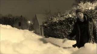 preview picture of video 'Snowboard un soir d'hiver à Corbeil'