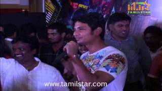 Actor Jiiva Unveils Spiderman at Forum Mall