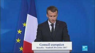 REPLAY - Watch French President Macron