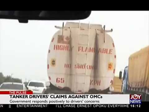 Tanker Driver's Claims against OMCs - The Pulse on JoyNews (16-5-18)