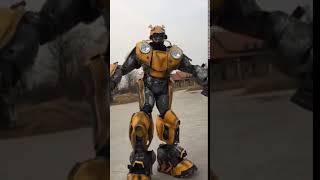 Adults Bumblebee Transformers Costume For Theme Party Mascots For Opening Ceremony