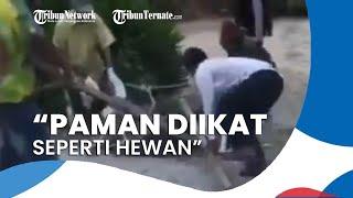 Seorang Pria di Toba Positif Covid-19 Dipukul, Diikat, & Diseret, Keponakan: Tolong Polisi Diproses