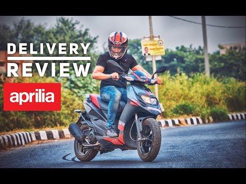 2017 Aprilia SR150 | Delivery | Short Review