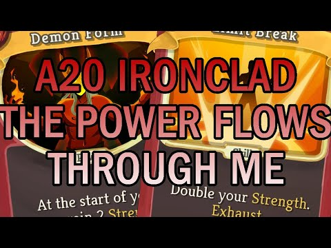 SO! MUCH! POWER! | Ascension 20 Ironclad Run | Slay the Spire