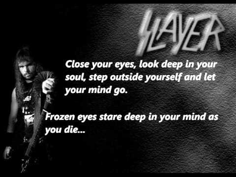 Slayer - Seasons In The Abyss Lyrics