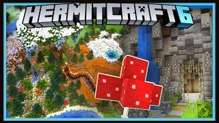 Hermitcraft Season 6: Fantasy Biome With Surprise Design!   (Minecraft 1.13.1 survival  Ep.25)