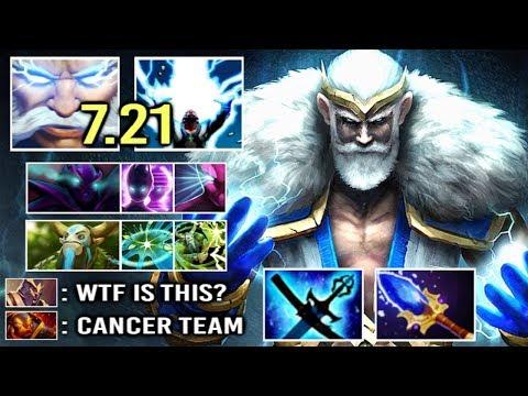 EPIC Sh*t Global Pick by Sumail Zeus 7.21 Static Field 11% Shock Crazy Gameplay WTF Meta Dota 2