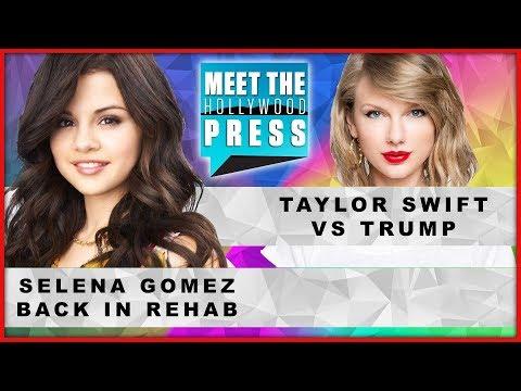 SNL Mocks Kanye West; Taylor Swift vs. Trump, Selena Gomez Rehab - Meet The Hollywood Press