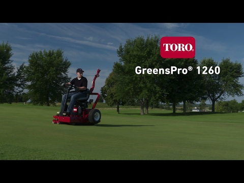 2019 Toro GREENSPRO® 1260 in Greenville, North Carolina - Video 1