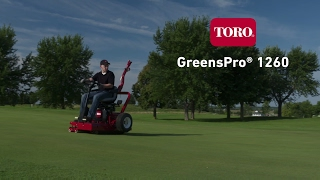 Toro GreensPro 1260 Overview
