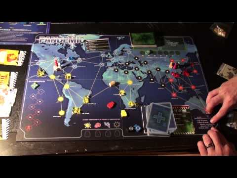 Pandemic Overview of Rules (4 of 5) - Draw Phase, Infection Phase, and Outbreaks
