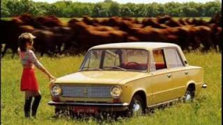 Ретро-реклама советских автомобилей