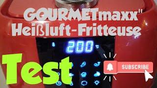 GourmetMaxx - Heißluft - Fritteuse 9 in 1 - Test - Testbericht.