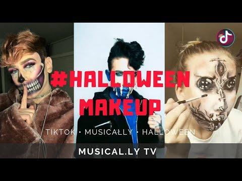 Top Halloween MakeUp Look Tik Tok Musically 2018 P1