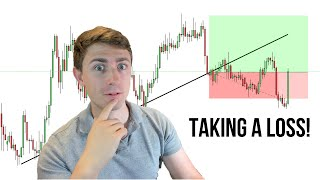 Taking a LOSS on USDCAD: Full Trade Breakdown, and an Important Lesson!