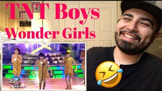 """Reacting to TNT Boys Performing to Wonder Girls """"Nobody """" Your Face Sounds Familiar"""