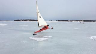 Take a slide on a P.E.I. ice boat