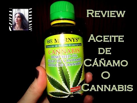 Aceite de cañamo o Cannabis.