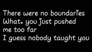 Gwen Stefani - Used to love you  (Official lyrics)