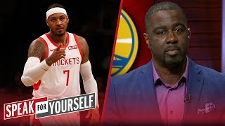 Chris Haynes talks Lakers' interest in Melo and KD challenging Draymond | NBA | SPEAK FOR YOURSELF