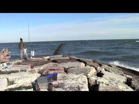 Fotografia che pesca nellOceano Indiano
