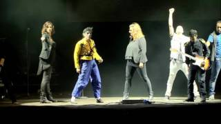 MICHAEL JACKSON TRIBUTE BAND WORKING DAY AND NIGHT