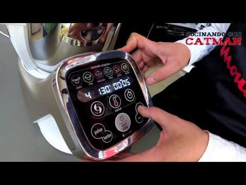 Vichyssoise de calabacín con Cuisine Companion - Cocinando con Catman