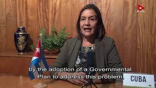 Intervención Ministra del CITMA en AGNU75