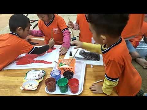 Chuyên đề tạo hình: Tạo tranh trên nền ( 5 tuổi)