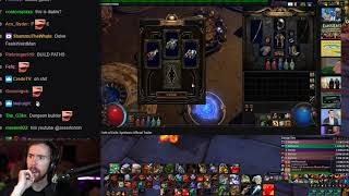 Asmongold Watches The Path Of Exile Synthesis Official Announcement Trailer