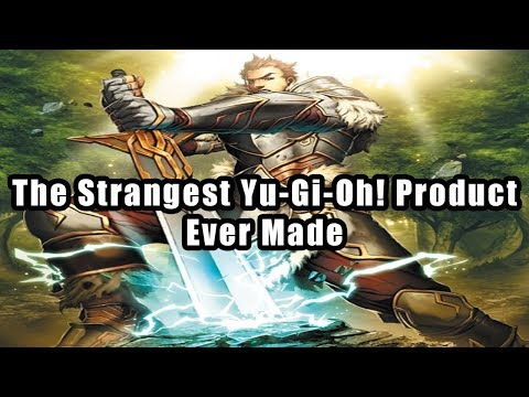 The Strangest Yu-Gi-Oh! Product Ever Made