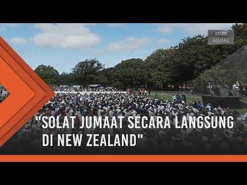 New Zealand Berkabung: Khutbah dan solat Jumaat secara langsung di New Zealand