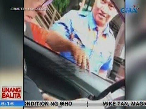 [GMA]  UB: Traffic enforcer, na-hulicam na kinotongan ang isang dayuhan