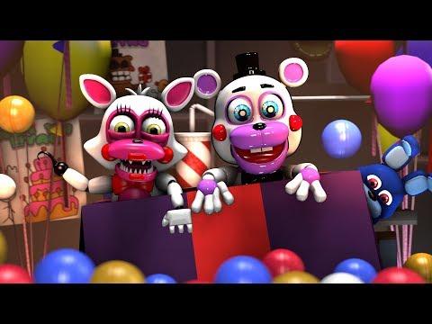 CuteTime Freddy Animations | FNAF 6 FFPS Helpy - смотреть онлайн на