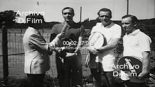 Andres Gimeno Fred Stolle Rod Laver - Torneo De Tenis En Buenos Aires 1968