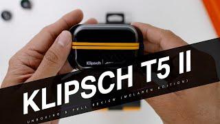 Is This The Toughest Premium Earbuds Ever? : Klipsch T5 II Truewireless Sport (Mclaren Edition)