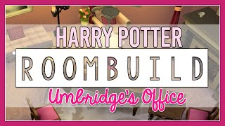 The Sims 4 | Room Build | Professor Umbridge's Office