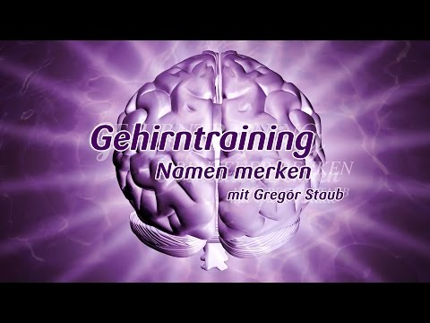 Gehirntraining mit Gregor Staub: Namen merken