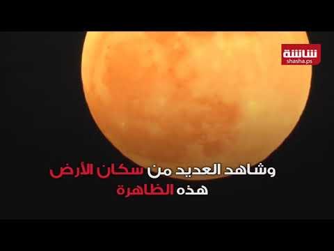 فيديو| العالم يشهد ظاهرة 'القمر الأزرق الدموي العملاق'