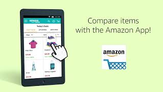 Compare items with the Amazon App