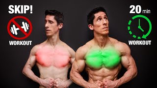 The PERFECT Chest Workout (20 MIN EDITION!)