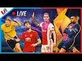 LIVE: Loting AJAX-AS ROMA & Champions League Bespreken Met Suley, Pieter & Ruben