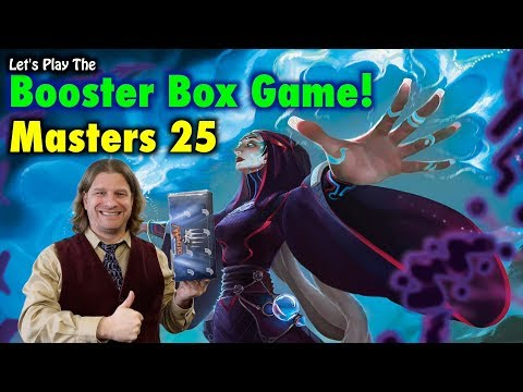 MTG – Let's Play The Masters 25 Booster Box Game! Magic The Gathering's 25th Anniversary Set!